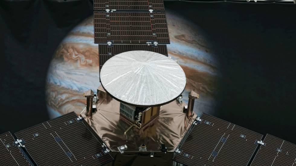 La Sonda Espacial Juno Llega A Júpiter Tras Cinco Años De Viaje