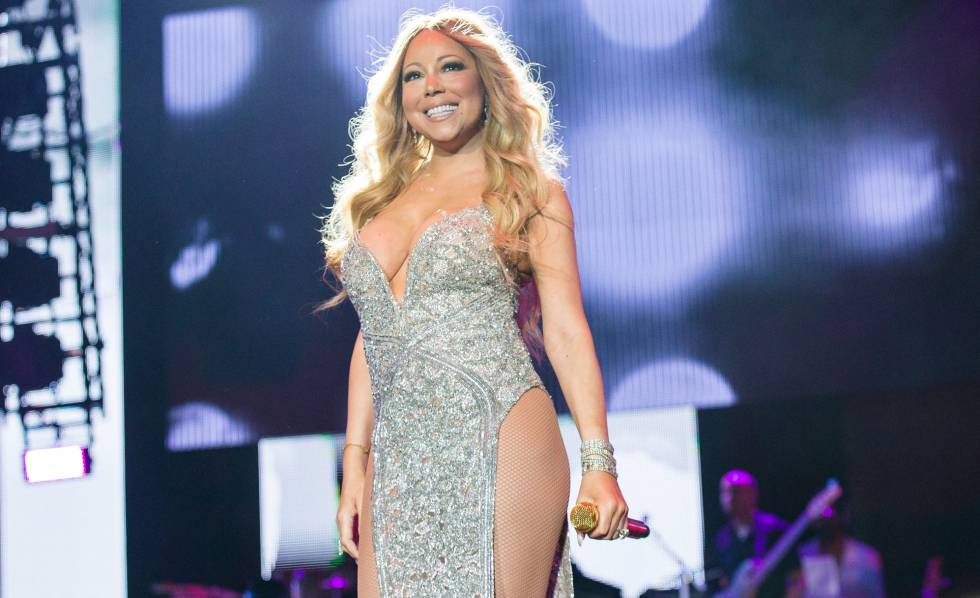 Resultado de imagen para Mariah Carey  se refugia en hombre menor