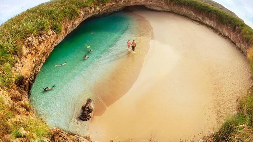 Playa del amor mxico protege una de las playas ms bonitas del mxico protege una de las playas ms bonitas del mundo y sus mil islas altavistaventures Images