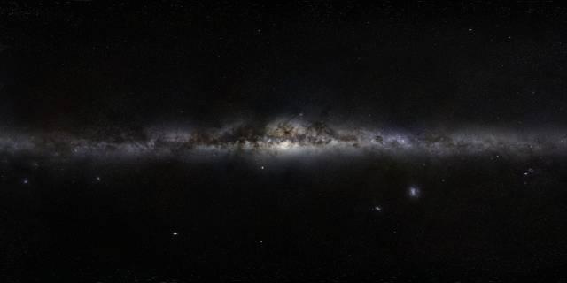 La mejor simulación del nacimiento de nuestra galaxia