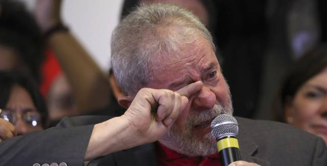 "Brazil's Lula: ""If they find me guilty of corruption, I'll walk to the police station myself"""