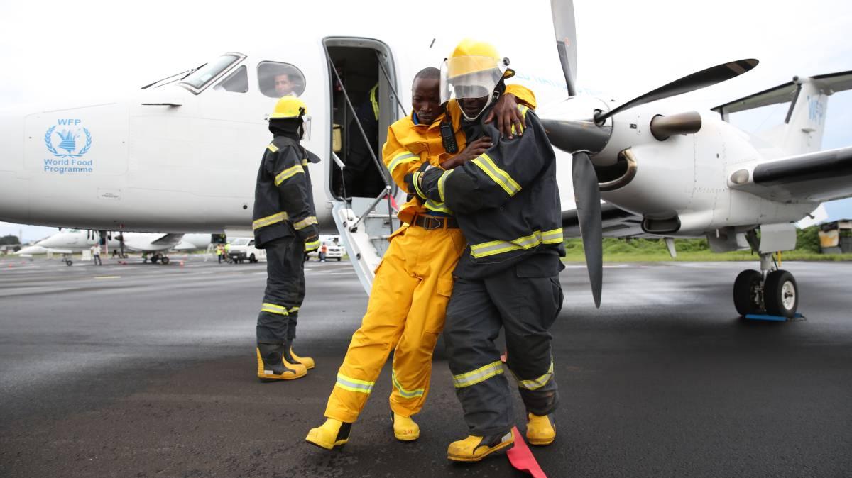 Así se envía volando ayuda humanitaria