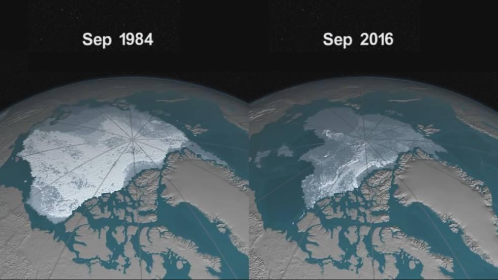 Resultado de imagen de las masas polares ártica y antártica se,están descongelando