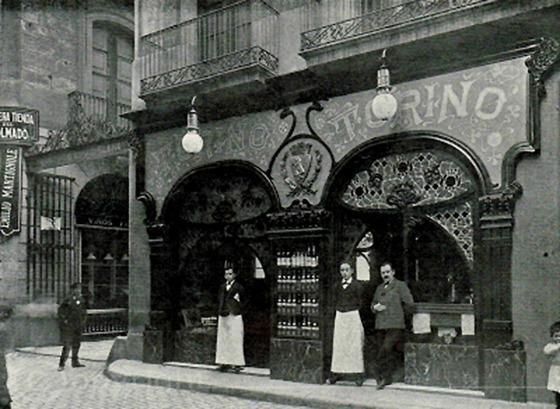 Cafe-Torino original (La Barcelona de antes. com).