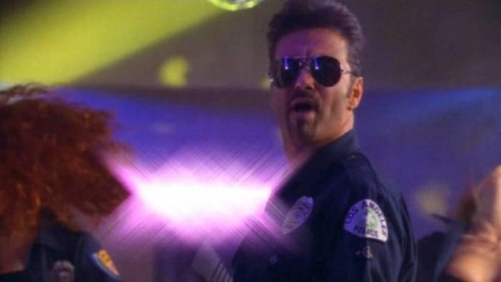 Y George Michael convirtió en arte el incidente con un policía en un ...
