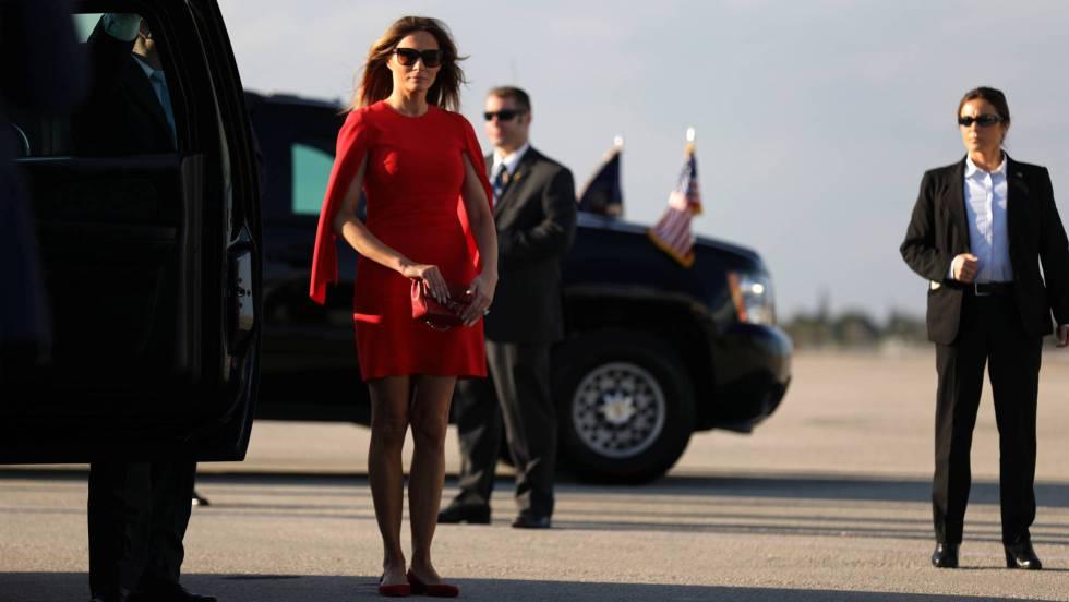Desde el comienzo de legislatura el 20 de enero, Melania Trump no ha vuelto  a pisar Washington pese a ser la esposa de un presidente con carácter ...