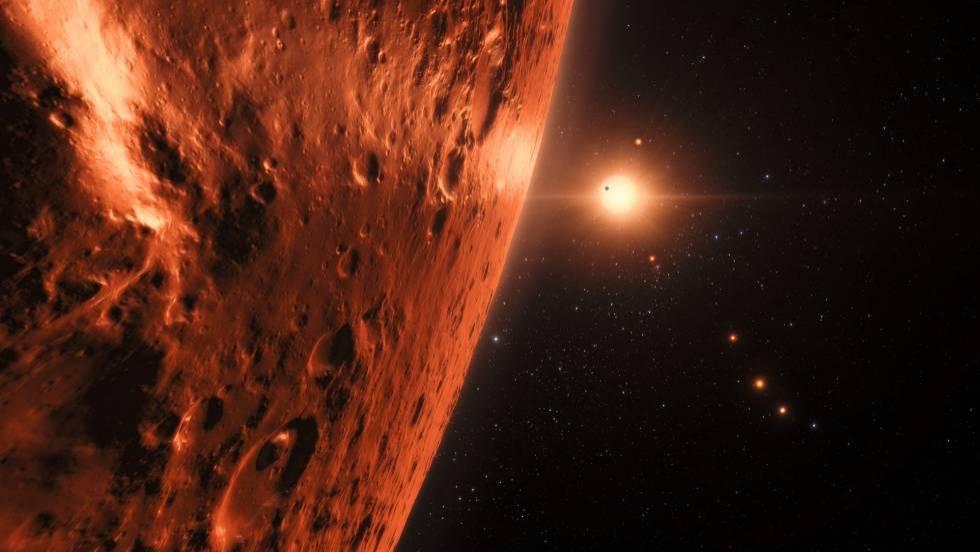Descubrimiento planetas: Así sería la vida en los exoplanetas recién ...