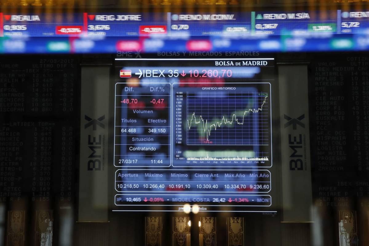 Sigue en directo la evolución del Ibex y de los mercados