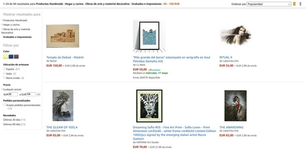6c4088d41e21a Dónde comprar arte  low cost  en Internet