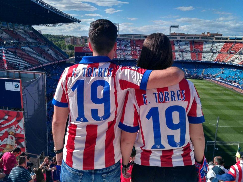 Despedida del estadio y homenaje a Torres