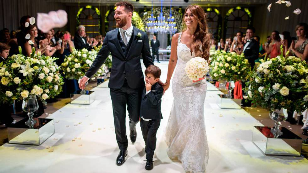 la boda de leo messi y antonela rocuzzo, vista desde dentro | gente
