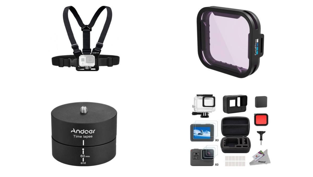 Los mejores accesorios para las cámaras GoPro (y a buen precio)