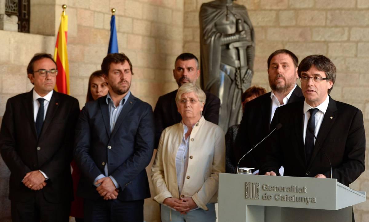 Las mentiras de Puigdemont