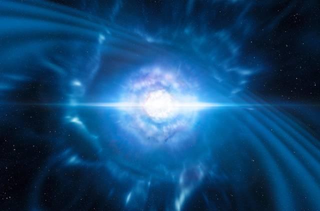 Captadas por primera vez luz y ondas gravitacionales de una explosión estelar