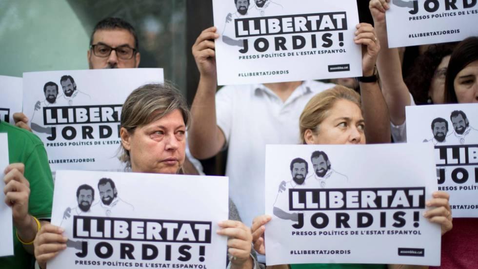 Resultado de imagen de presos politicos jordis