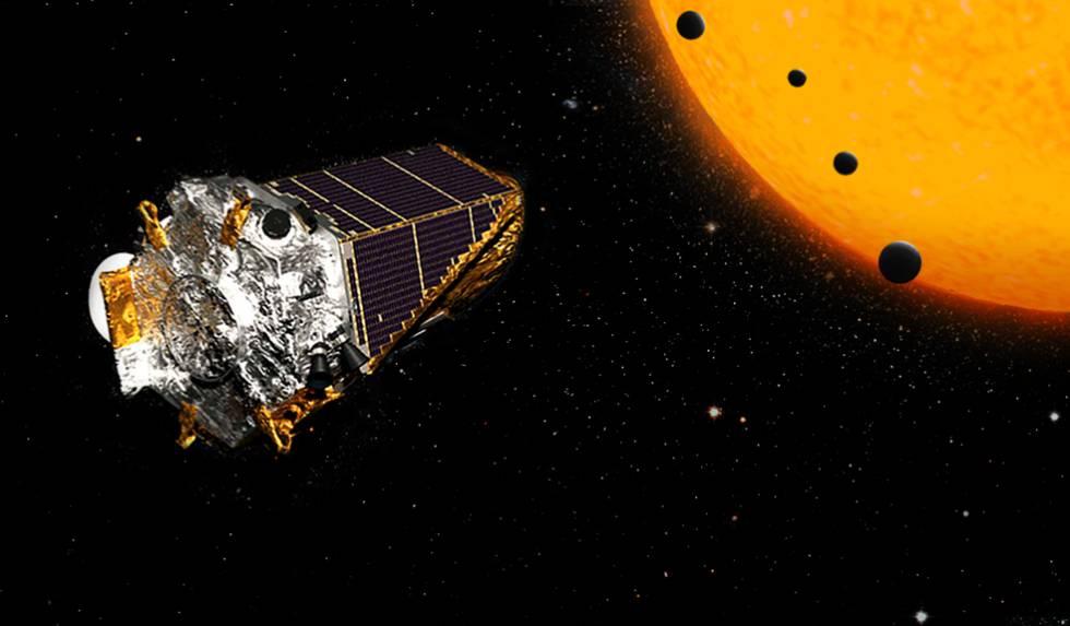 Resultado de imagen de El telescopio Kepler busca nuevos mundos