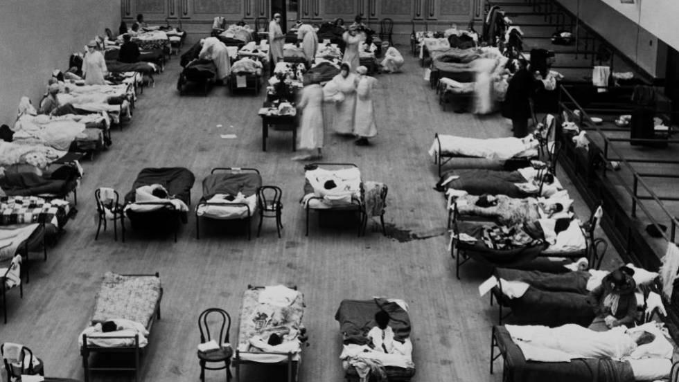 Resultado de imagen para gripe española