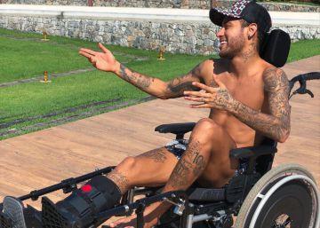 El homenaje de mal gusto de Neymar a Stephen Hawking