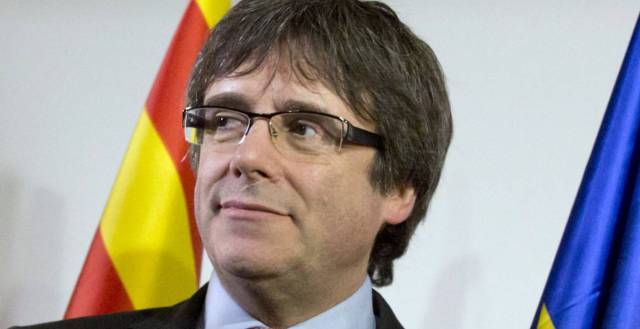 Carles Puigdemont detained by German police