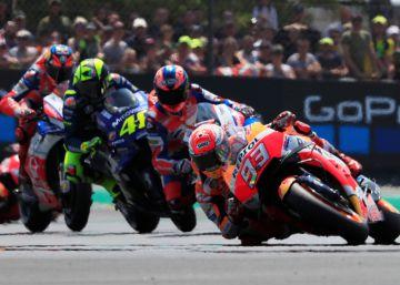 Marc Márquez gana el Gran Premio de Francia de MotoGP, en imágenes