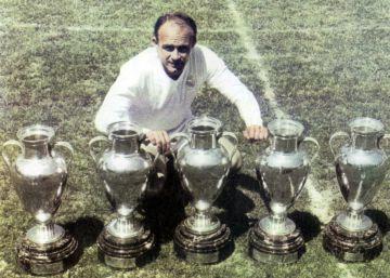 Las 12 Copas de Europa ganadas por el Real Madrid, en imágenes