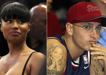 Nicki Minaj dice que sale con Eminem y después que era una broma