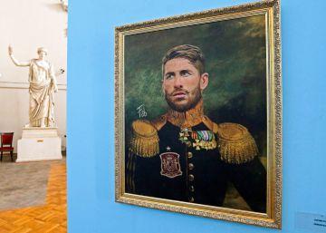 Exposición: futbolistas convertidos en militares