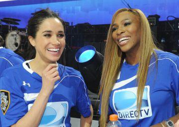 Así es la especial amistad de Meghan Markle y Serena Williams