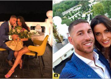 El traje, el ramo y el selfi de Sergio Ramos y Pilar Rubio: análisis de la imagen más comentada del día