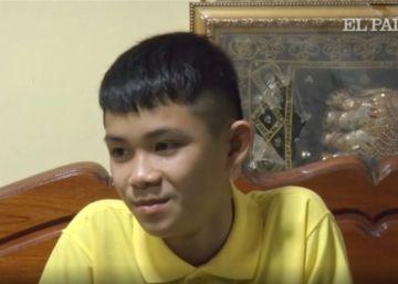 """Un niño de la cueva de Tailandia: """"Los auténticos héroes son los marines"""""""