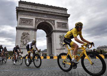 La última etapa del Tour de Francia 2018, en imágenes