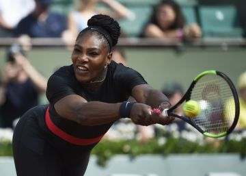 A Serena Williams le pasa factura la maternidad
