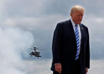 El orgullo militar de Trump