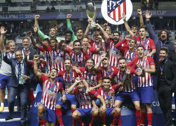 La final de la Supercopa de Europa 2018 entre el Real Madrid y el Atlético de Madrid, en imágenes