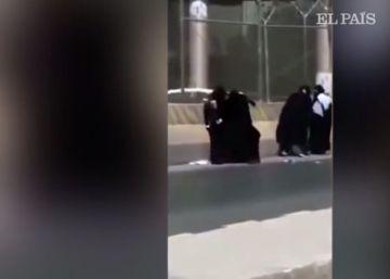Cinco mujeres protagonizan una pelea a plena luz del día en Riad