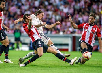 Athletic de Bilbao - Real Madrid, el partido de La Liga en imágenes