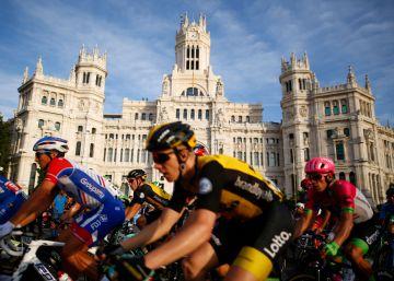 La última etapa de la Vuelta a España, en imágenes
