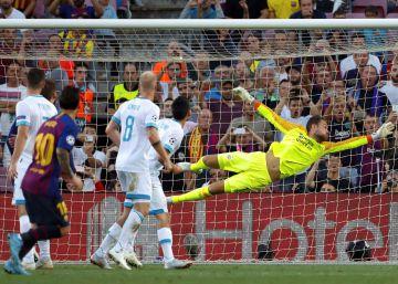 Barcelona - PSV Eindhoven, la Champions League en imágenes