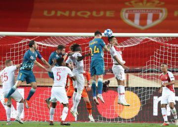 Mónaco - Atlético de Madrid, la Champions League en imágenes