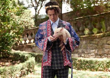 Harry Styles se hace granjero para la nueva campaña de Gucci