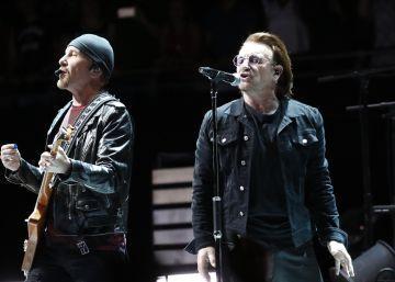 El concierto de U2 en Madrid, en imágenes