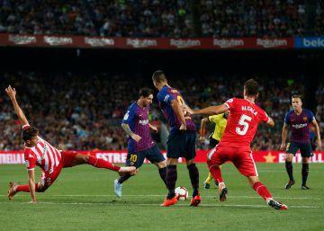 Barcelona-Girona, La Liga Santander en imágenes
