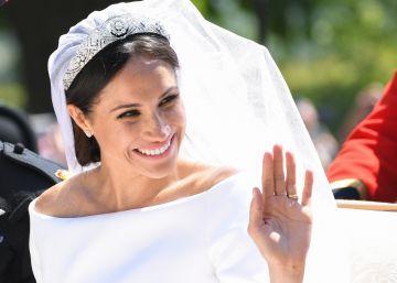 Meghan Markle desvela los secretos de su vestido de novia
