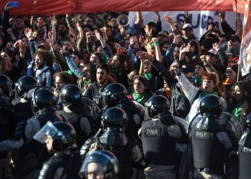 La huelga general de Argentina, en imágenes