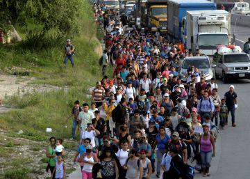 La caravana de Honduras a Estados Unidos