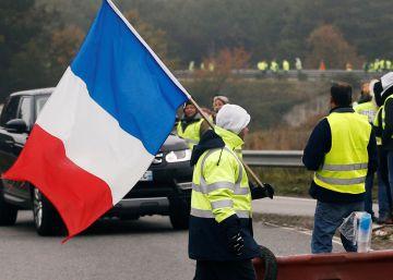 La protesta popular de los 'chalecos amarillos' en Francia, en imágenes