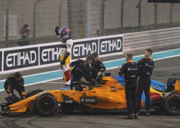 El Gran premio de Abu Dabi de Fórmula 1, las imágenes de la carrera