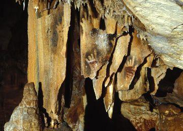 Las pinturas rupestres de manos incompletas podrían deberse a mutilaciones rituales