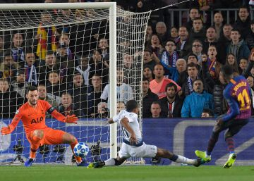 Barcelona - Tottenham, en imágenes