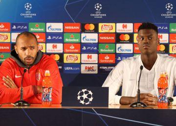 A Henry le basta una mirada para imponer su disciplina a un jugador del Mónaco